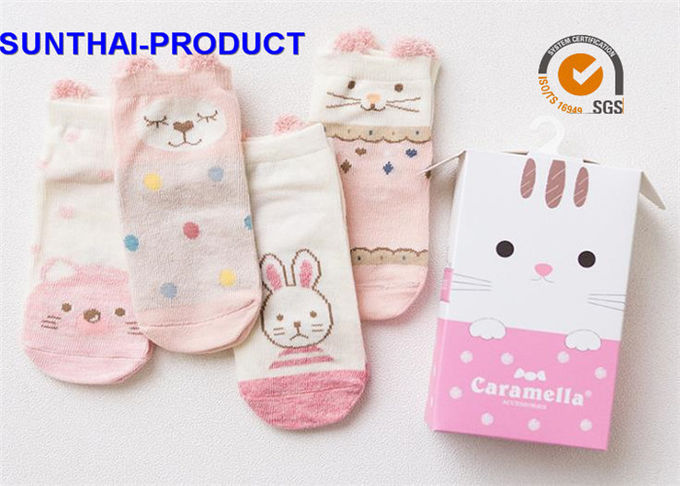 Cute Unisex Baby Clothes Sets , Newborn Baby Girl Socks With 100% Cotton Materials
