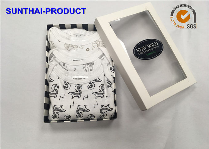 100% Cotton Baby Clothes Gift Set 3 Pack Bodysuits For Infants OEM Available